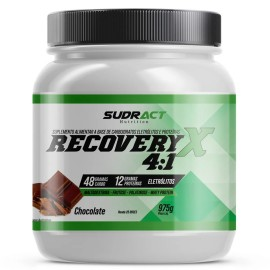 Recovery X 4:1 Pote 975g - Sudract Nutrition Chocolate